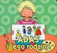 Adaś i jego rodzina - okładka książki
