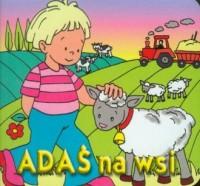 Adaś na wsi - okładka książki