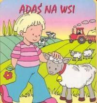 Adaś na wsi (książeczka gąbka) - okładka książki
