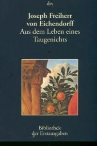Aus dem Leben eines Taugenichts - okładka książki