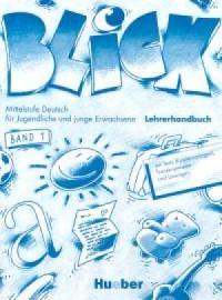 Blick 1. Książka nauczyciela - okładka podręcznika