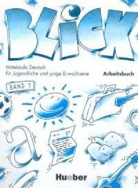 Blick 1. Zeszyt ćwiczeń - okładka podręcznika
