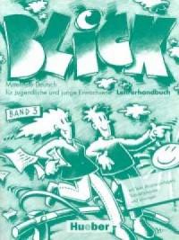 Blick 3. Książka nauczyciela - okładka podręcznika
