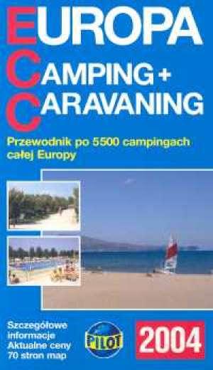 Europa Camping Caravaning - okładka książki