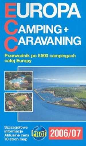 Europa Camping Caravaning 2006/2007 - okładka książki