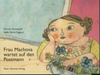 Frau Machova wartet auf den Postman - okładka książki
