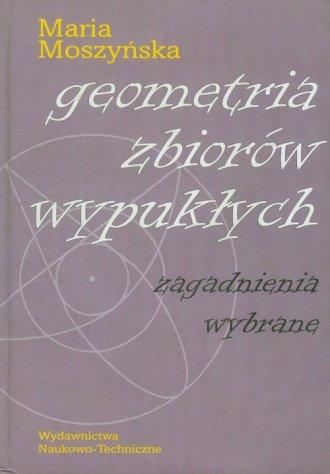 Geometria zbiorów wypukłych - okładka książki