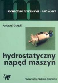 Hydrostatyczny napęd maszyn - okładka książki