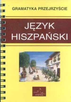 Język hiszpański. Gramatyka przejrzyście - okładka podręcznika