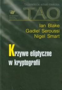 Krzywe eliptyczne w kryptografii - okładka książki