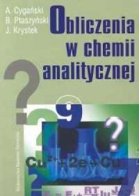 Obliczenia w chemii analitycznej - okładka książki