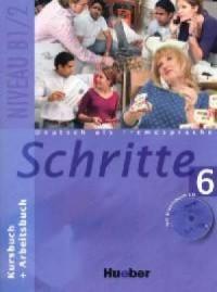 Schritte 6. Kursbuch + Arbeitsbuch - okładka podręcznika