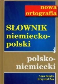 Słownik niemiecko-polski, polsko-niemiecki. - okładka książki