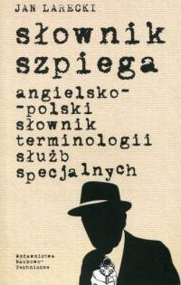 Słownik szpiega angielsko-polski - okładka książki