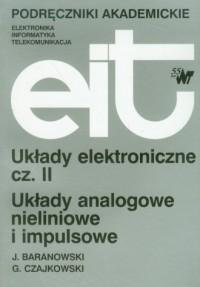 Układy eletroniczne cz. 2 - okładka książki