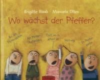 Wo wachst der Pfeffer? - okładka książki