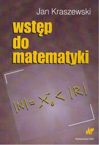 Wstęp do matematyki - okładka książki