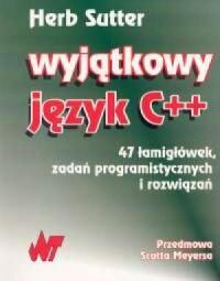 Wyjątkowy język C++ - okładka książki