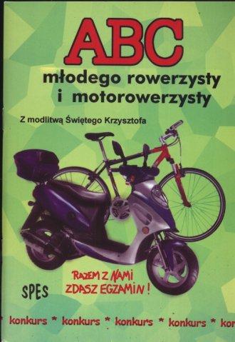 Abc młodego rowerzysty - okładka książki