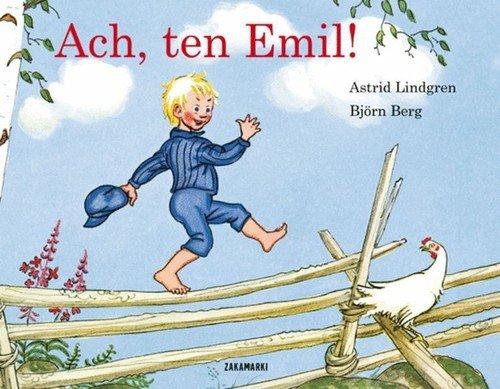 Ach, ten Emil - okładka książki