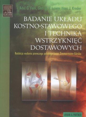 Badanie układu kostno-stawowego - okładka książki