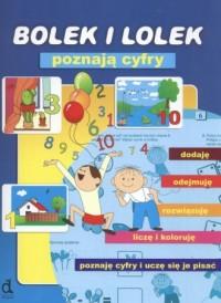 Bolek i Lolek poznają cyfry - okładka książki
