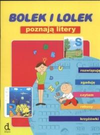 Bolek i Lolek poznają litery - okładka książki