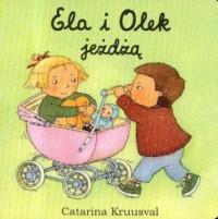 Ela i Olek jeżdżą - okładka książki