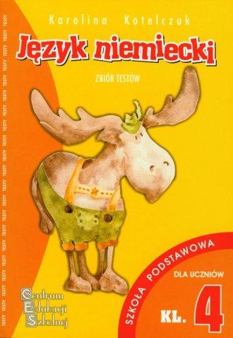 Język niemiecki. Klasa 4. Szkoła - okładka podręcznika