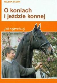 O koniach i jeździe konnej jak najprościej - okładka książki