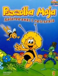 Pszczółka Maja 1. Kolorowanki i - okładka książki