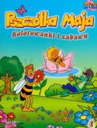 Pszczółka Maja 4. Kolorowanki i - okładka książki