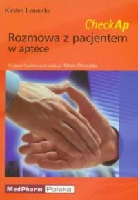 Rozmowa z pacjentem w aptece - okładka książki
