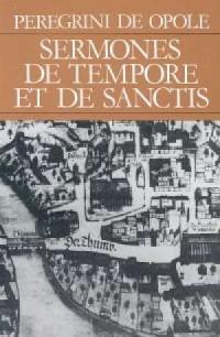 Sermones de tempore et de sanctis - okładka książki