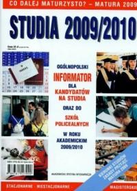 Studia 2009/2010. Informator. Ogólnopolski informator dla kandydatów na studia oraz do szkół policealnych w roku akademickim 2009/2010 - okładka książki