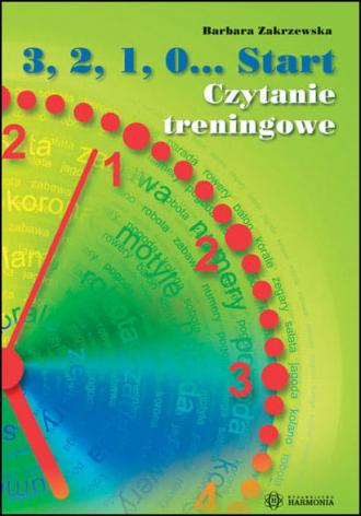 3 2 1 0 ... Start Czytanie treningowe - okładka książki