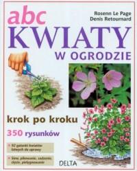 Abc. Kwiaty w ogrodzie - okładka książki
