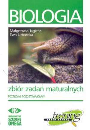 Biologia. Zbiór zadań maturalnych. - okładka podręcznika