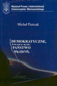 Demokratyczne świeckie państwo prawne - okładka książki