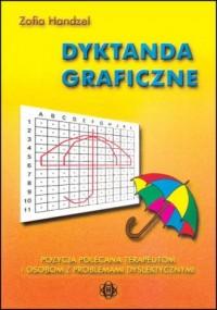 Dyktanda graficzne - okładka książki