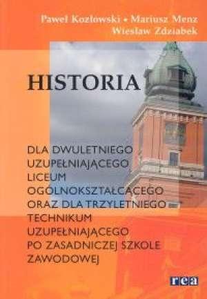 Historia. Podręcznik dla dwuletniego - okładka podręcznika