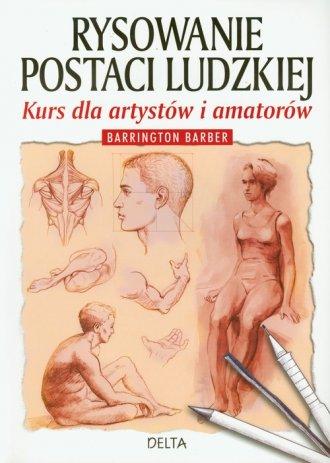 Rysowanie postaci ludzkiej - okładka książki