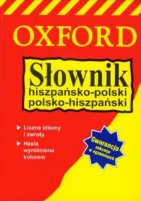 Słownik hiszpańsko-polski, polsko-hiszpański - okładka książki