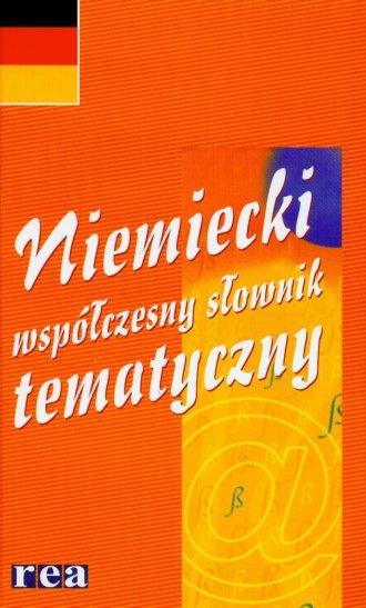 Słownik niemiecki. Współczesny - okładka książki