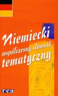 Słownik niemiecki. Współczesny tematyczny - okładka książki
