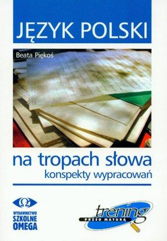 Język polski. Na tropach słowa. - okładka podręcznika