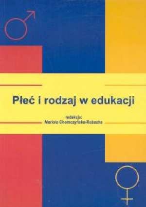 Płeć i rodzaj w edukacji - okładka książki