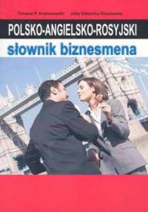 Polsko-angielsko-rosyjski słownik - okładka książki