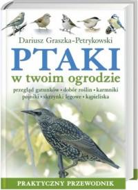 Ptaki w twoim ogrodzie - okładka książki