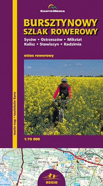 Bursztynowy Szlak Rowerowy - zdjęcie reprintu, mapy